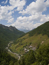Svaneti mountains Royalty Free Stock Photography