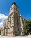 Svart kyrka Royaltyfria Bilder