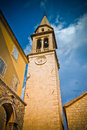 Sveti Ivan Church in Budva old town Stock Images