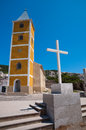 Sveti Jurje church in Baska Krk - Croatia Royalty Free Stock Image
