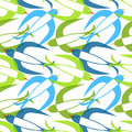 Swallow birds seamless pattern flying other colors can be made Stock Images