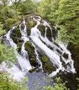 Swallow Falls near Betws-Y-Coed Royalty Free Stock Photo