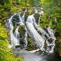 Swallow Falls in Snowdonia National Park Royalty Free Stock Photo