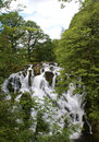 Swallow falls waterfall betws y coed North Wales Royalty Free Stock Photo