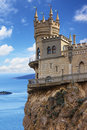Swallow's Nest Castle, Crimea Royalty Free Stock Images