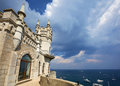 Swallow's Nest Castle, Crimea Royalty Free Stock Photo