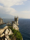 Swallow s nest castle crimea ukraine Stock Photos