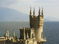 Swallow s nest castle crimea ukraine Stock Images