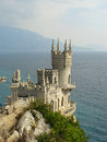 Swallow s nest castle crimea ukraine Royalty Free Stock Photography