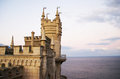 Swallow s nest castle in crimea ukraine Stock Photography
