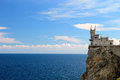 Swallow's Nest. Crimea. Ukraine Royalty Free Stock Photo