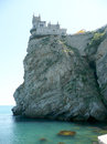 Swallow s nest scenic castle over the black sea yalta crimea ukraine Royalty Free Stock Images
