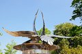 Swan fountain, Stratford-upon-Avon. Royalty Free Stock Photo