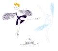 Swan Lake doodle