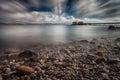 Swansea Bay at Mumbles Royalty Free Stock Photo