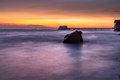 Swansea Bay Sunrise Royalty Free Stock Photo