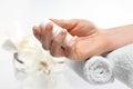 Swarovski Crystals Manicure