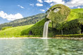 Swarovski museum innsbruck austria august kristallwelten crystal worlds crystal themed theme park entrance on august near Stock Images