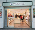 Swarovski shop in hong kong Stock Photo