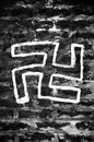 Swastika, symbol of fascism Royalty Free Stock Image