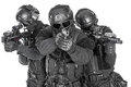 SWAT officers Royalty Free Stock Photo