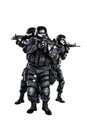 SWAT team in action Royalty Free Stock Images