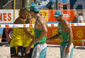 SWATCH FIVB World Tour Prague Stock Image
