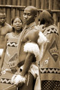 Swazi dancers Royalty Free Stock Photo