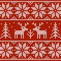 Sweater with deer Royalty Free Stock Photo