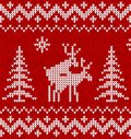 Sweater with deer Stock Image