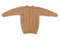 Sweater isolated knit Royalty Free Stock Photo