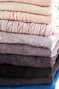 Sweater Stack Stock Photo