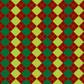 Sweater texture mixed green and red Stock Images