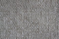 Sweater warm grey made of wool handmade Royalty Free Stock Image