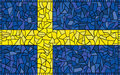 Sweden National Flag Stock Photos