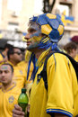 Swedish fan Stock Images