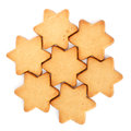 Swedish Ginger Snaps for Christmas Royalty Free Stock Photo