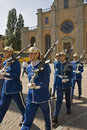 Swedish King's Guard Royalty Free Stock Photo