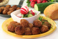 Swedish meatballs Stock Photography