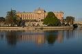 Swedish parliament Riksdagshuset, Stockholm, Sweden Royalty Free Stock Photo