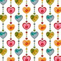 Swedish pattern design colorful graphic illustration for children Stock Photo