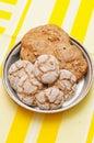 Swedish rye flour buns Royalty Free Stock Photo