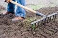 Sweep-rake Stock Photography