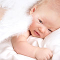 Sweet angel baby Royalty Free Stock Photo