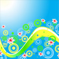 Sweet background.Vector. Stock Images
