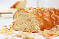 Sweet braided bread Stock Image