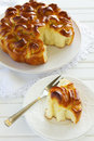 Sweet braided bread Royalty Free Stock Photo