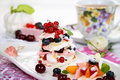 Sweet breakfast Stock Images