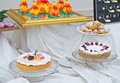 Sweet Buffet. Royalty Free Stock Images