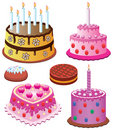 Sweet cakes Royalty Free Stock Photos